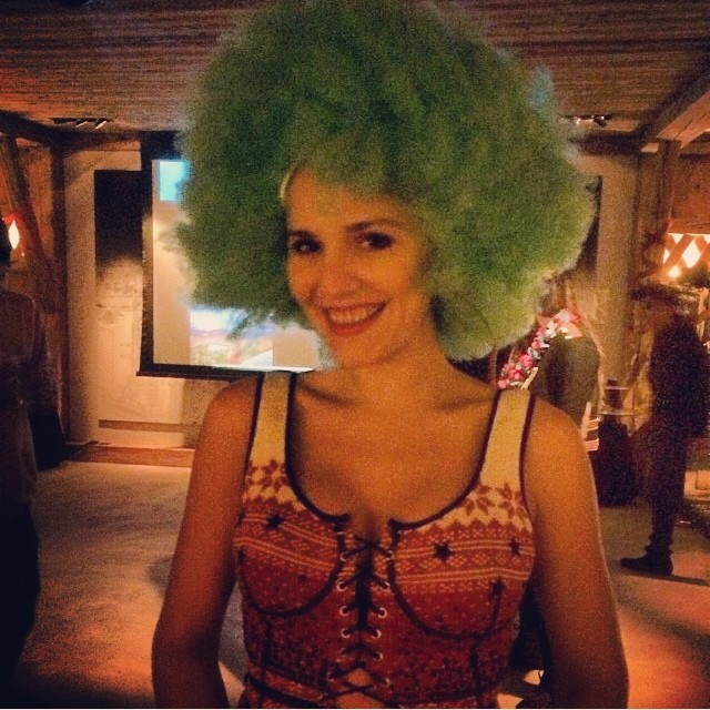 Margherita Missoni parties the night away in Gstaad