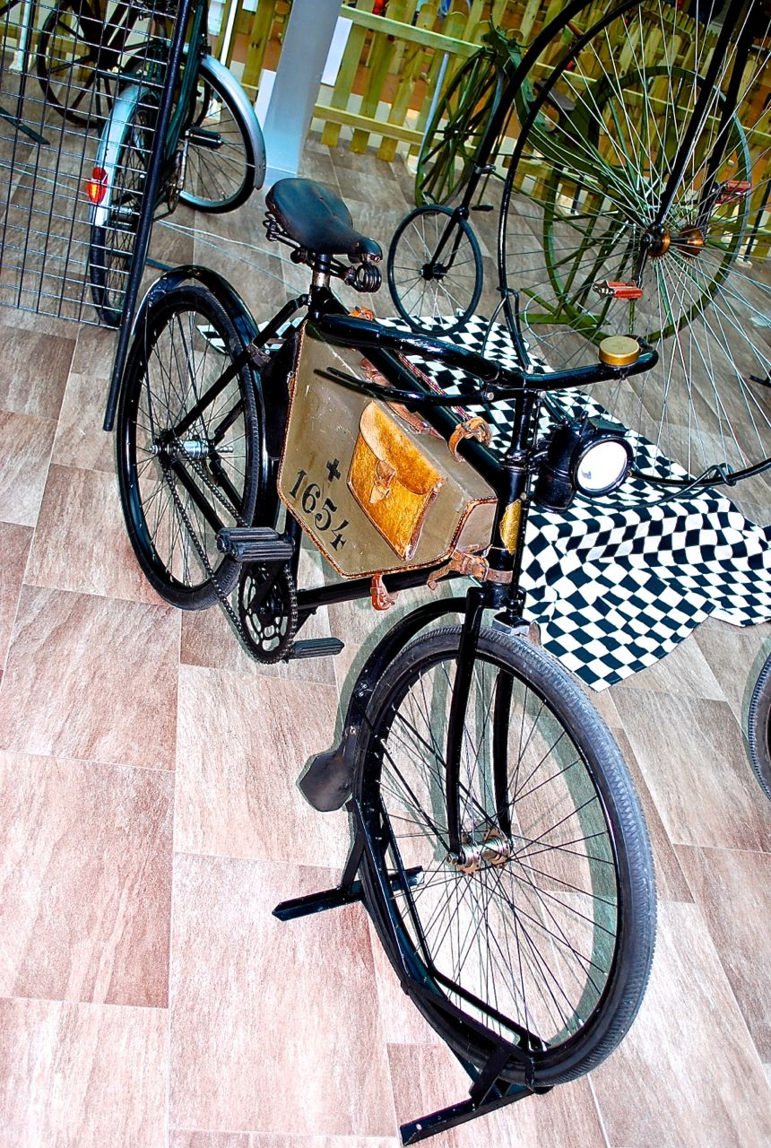 1950s Swiss military bike