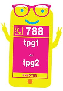 TPG ticket via phone SMS Text