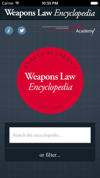 Weapons Law Geneva Academy