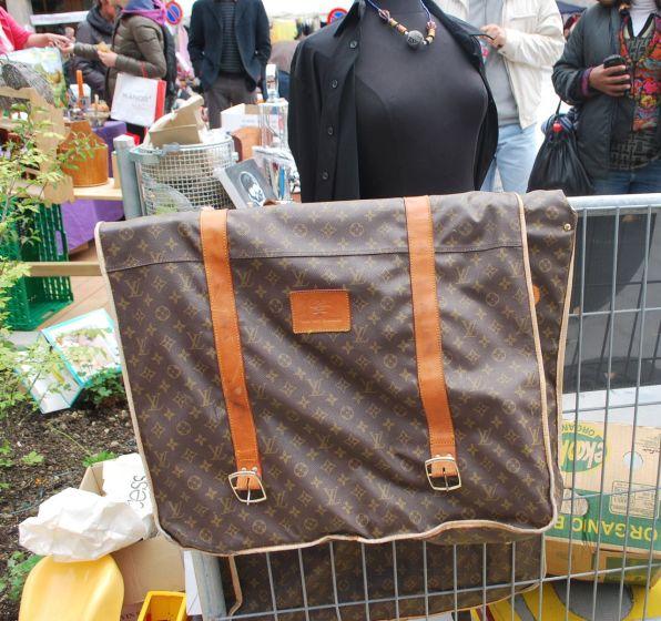 Vintage Louis Vuitton spotted at the Ville-est-a-vous in Geneva