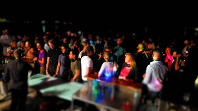 Silent Party gay outdoor party in Geneva