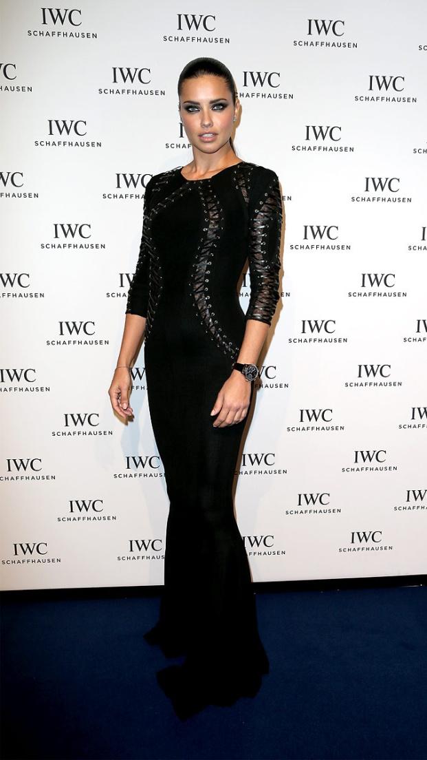 Adriana Lima in Geneva with IWC Schaffhausen2