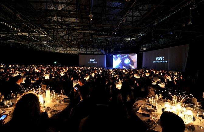 IWC Schaffhausen gala in Geneva
