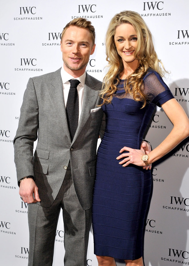 iwc_schaffhausen Ronan Keating and Storm Uechtritz