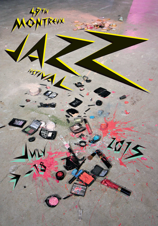 Montreux Jazz Festival 2015 poster