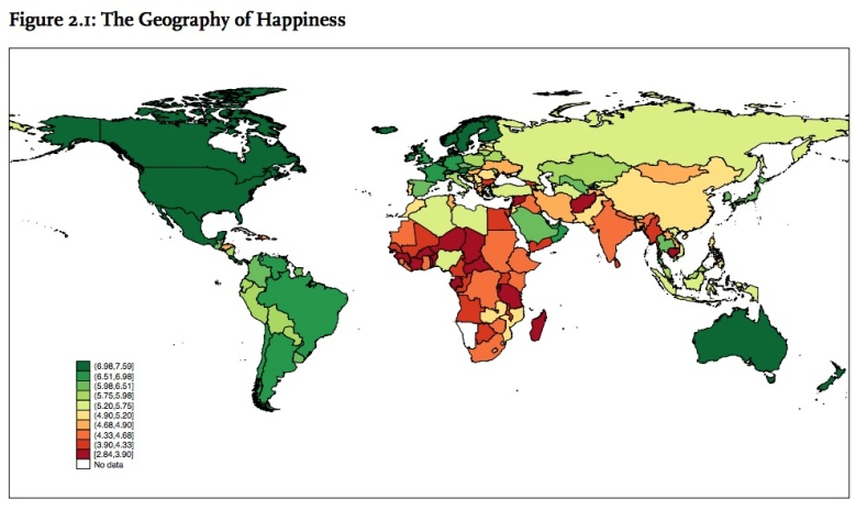 The Geography of Happiness