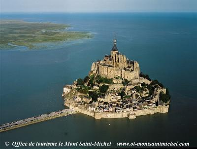 Mont-Saint-Michel castle