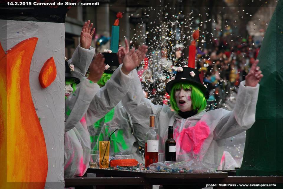 Carnival of Sion, Switzerland, photo MultiPass