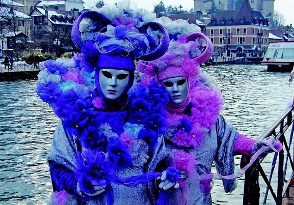 venetian-carnival in Annecy