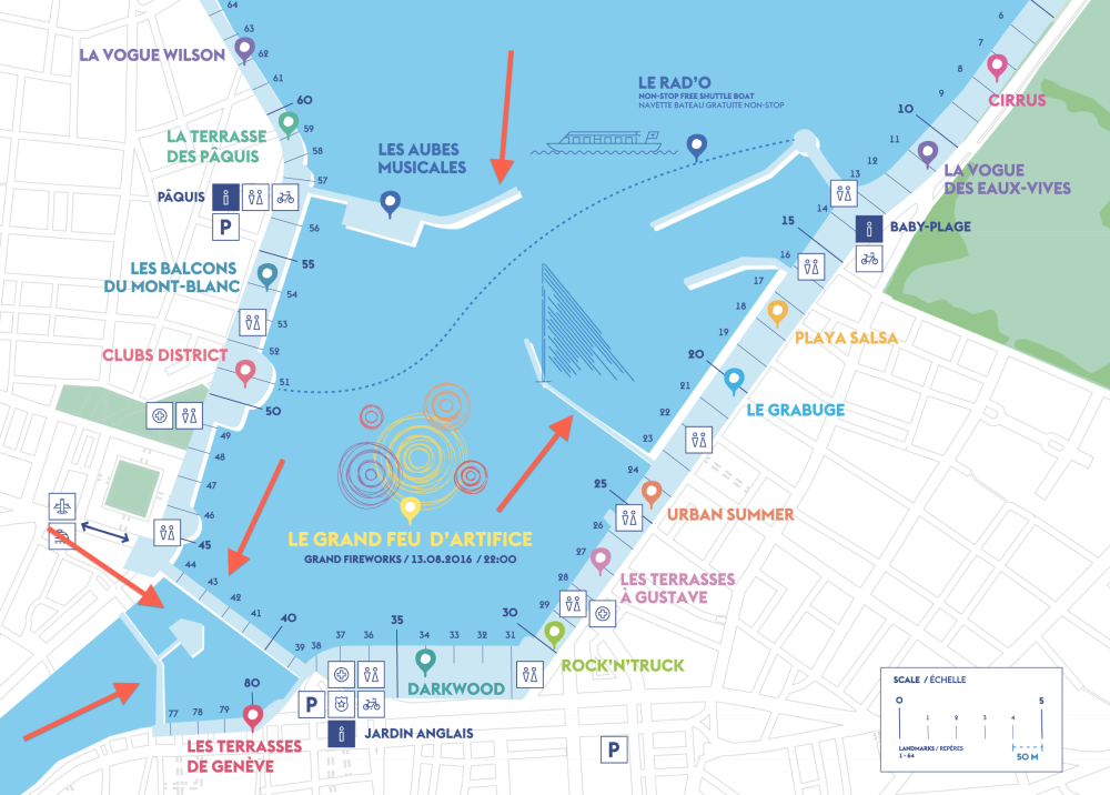Geneva Lake festival map
